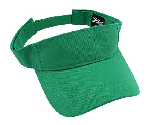 LAfashion101 Unisex Visor Lightweight & Comfortable - Ideal For Sports & Outdoor Activities - Available in Many Colors, KGN (Tennis Merchandise)