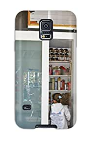 AfQrCIk657CQzNZ ElsieJM Sliding Glass Pantry Door Serves As Family Message Center Durable Galaxy S5 Tpu Flexible Soft Case