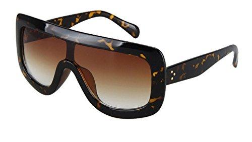 Oversized Celebrity Kim Kardashian Women Sunglasses Sexy Sun (Tortoise, - Kardashians Sunglasses