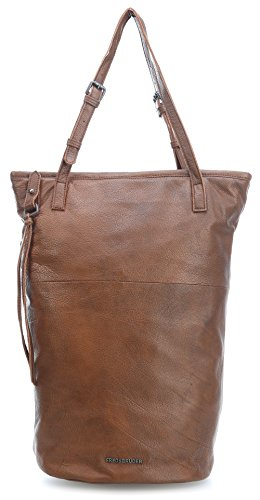 FredsBruder Highway Traveler Borsa tote marrone