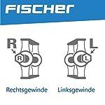 Fischer-Pedali-per-Tutte-Le-Biciclette-di-BambiniRagazzi-con-Inserti-Catarifrangenti-Nero
