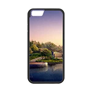 Japan Lake Landscape iPhone 6 4.7 Inch Cell Phone Case Black&Phone Accessory STC_010468