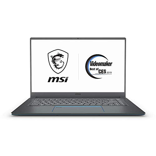 "MSI PS63 Modern-018 15.6"" Laptop, Intel Core i7-8565U, GTX 1650, 16GB RAM, 512GB SSD, Space Gray (Renewed)"