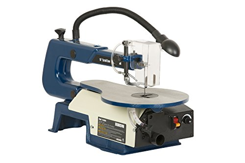 Rikon 10-600VS Scroll Saw With Lamp, 16-Inch (Work Light Scroll Saw)