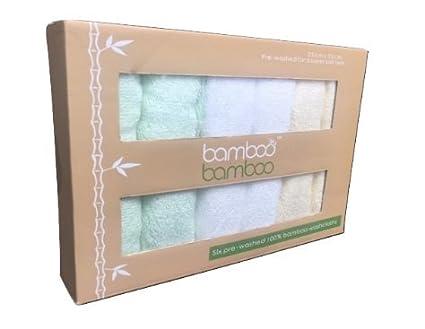 Toallas reutilizables Bamboo para pieles sensibles, ideales para bebés, antibacterianas, hipoalergé