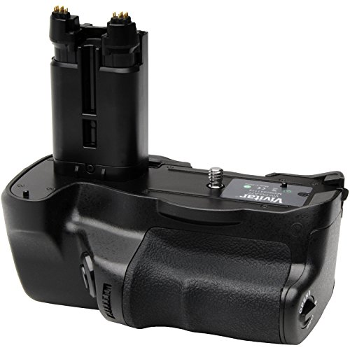 - Vivitar VG-C77AM Multi-Power Battery Grip for Sony Alpha A77, A77 II, A99 II DSLR Camera