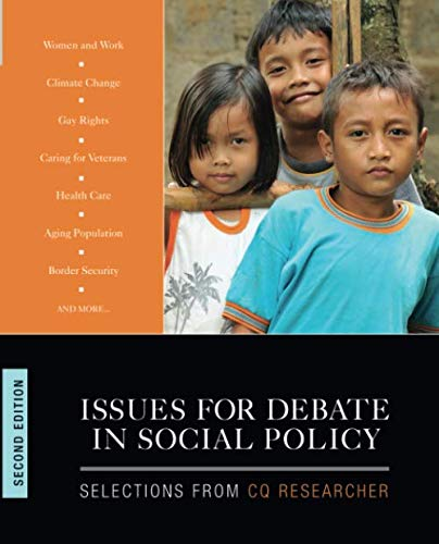 Issues for Debate in Social Policy: Selections From CQ Researcher (NULL)