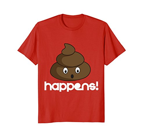 Poop-happens-any-time-Funny-Humor-T-shirt-tee-shirt