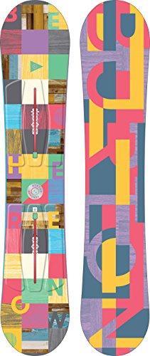 Burton Feather Snowboard Womens Sz 144cm Fiberglass Twin Tip Skis