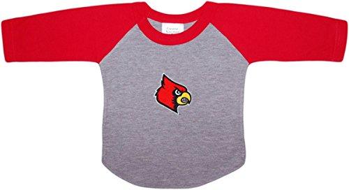 - University of Louisville Cardinals Baby and Toddler 2-Tone Raglan Baseball Shirt