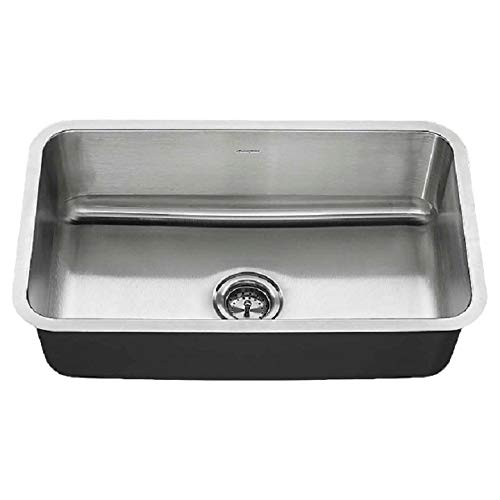 American Standard 18SB.9301800T.075 Undermount 30x18 Single Sink, Stainless Steel American Standard Undermount Sink