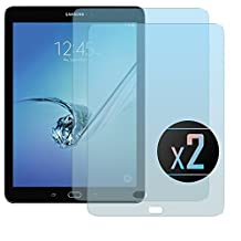 2 x Samsung Galaxy Tab S2 (9.7) Screen Protector, NEVEQ Premium Tempered Glass Screen Protector for Samsung Galaxy Tab S2 (9.7) (9.7) Display.