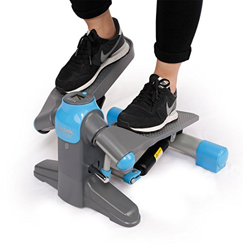 (Loctek FP1 Exercise Stepper Mini Step Swivel Elliptical Trainer)
