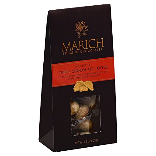 Marich Gable Triple Chocolate Toffee 4.5oz (6-pack)