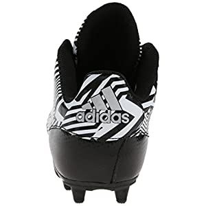 adidas Performance Men's Filthyspeed Low Football Cleat, Black/Platinum, 9.5 M US
