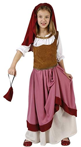 Fancy Me Disfraz de Pastor Medieval para niñas de 3 a 12 años ...