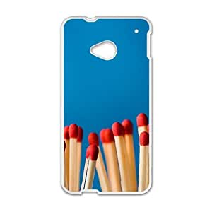 Match With Blue Background Fashion Personalized Phone Case For HTC M7
