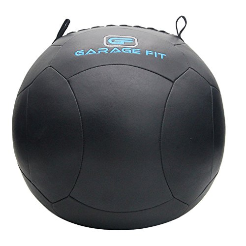 Soft Medicine Ball / Wall Ball for Cross Training (Black, 8)