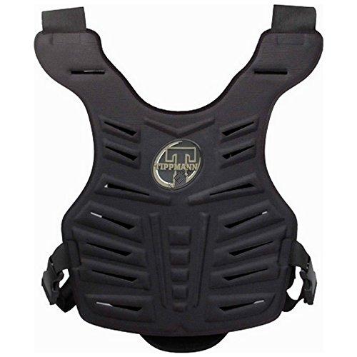Tippmann Hard Chest Body Armor, One Size, Black by Tippmann