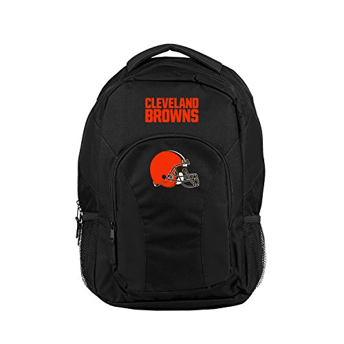 Nfl Cleveland Browns Nfl Draftday Backpack  Black  Measures 18  In Height  12  In Length   18  In Width