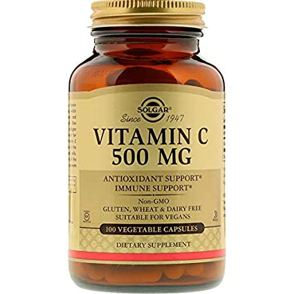 Solgar VITAMINA C 500mg. 100vegicaps - 100 gr
