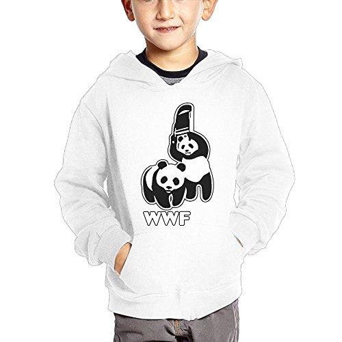 Cztdo Ouybn WWF Funny Panda Bear Wrestling Cotton Pullover Hoodie Sweatshirts For Unisex Toddler Hoody by Cztdo Ouybn