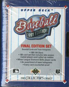 1991 Upper Deck Baseball Final Edition Factory Set ()