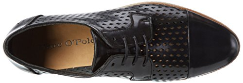 Black Negro Oxford O'Polo Mujer Marc 990 Lace 70114013401112 Up pxwfq