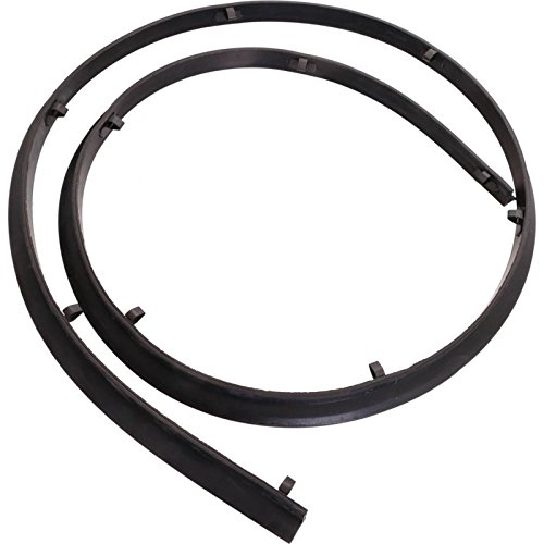 MACs Auto Parts 48-42303 Pickup Truck Cowl Seal Kit - With Mounting Clips - F100 Thru F750