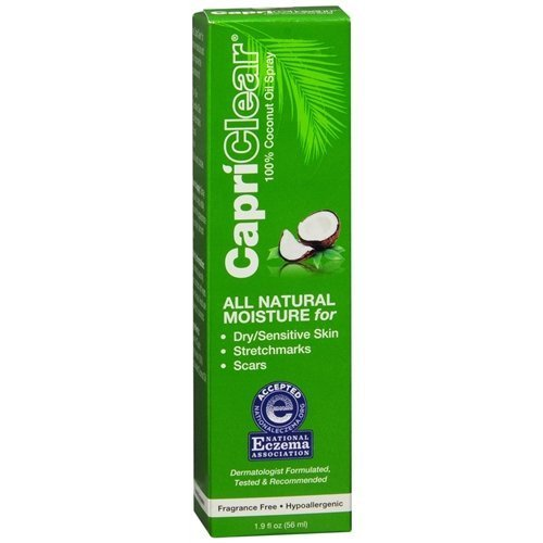 CapriClear Natural Soothing Oil 1.9 fl oz (56 ml)