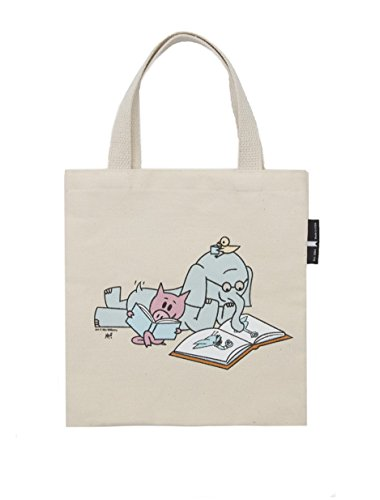 Out of Print Elephant and Piggie Read Kid's Tote Bag, 10.5 X 10.5 Inches by Out of Print (Image #1)