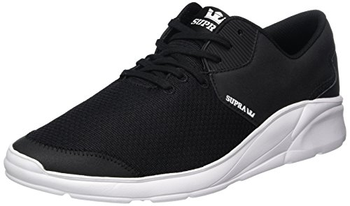 Noiz Unisex Supra Adulto White Black Sneaker EPwdAdxYq