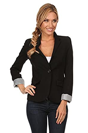 Boyfriend Blazer Jacket for Women Black, Red, White Blazers Long ...