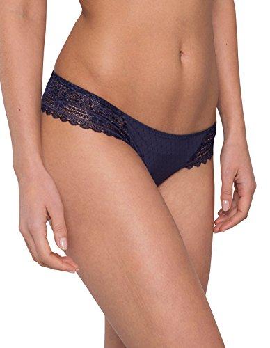 Maison Lejaby G51561-444 Women's Hanae Midnight Blue Lace Knicker Panty Sml