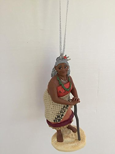 Disney Moana Gramma Tala Grandmother Holiday Christmas Tree Ornament PVC Figure 3.5'' Figurine by HOLIDAY ORNAMENTS (Image #2)