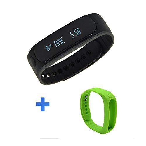 ArcEnCiel(TM) Bluetooth Smart-Sync-Armband, Fitness-Tracker Armband, wasserdicht, Schlafueberwachung, Anti-Verlier-Funktion