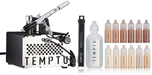 Temptu S-One Premier Airbrush Kit: Airbrush Makeup Set for Professionals