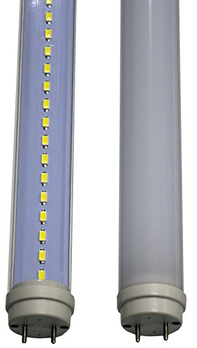10 Pack of Duda LED T10 White 4 Ft Tube Light Samsung 21w 2130 lumens 2 yr Warranty 6500k Daylight G13 Connection Pins by Duda LED