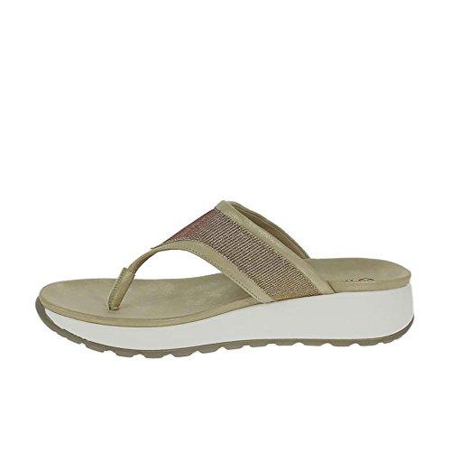 Oro De Mini Sandalias Heavenly Feet Oro