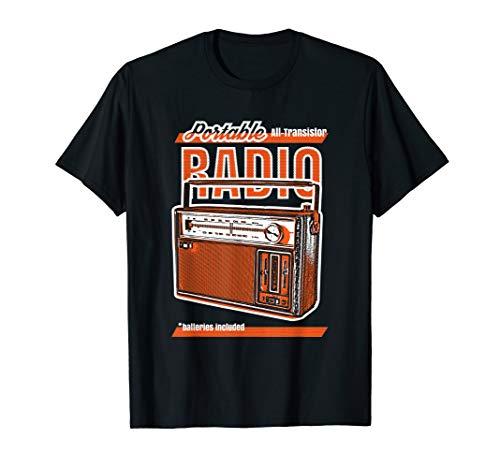 - Vintage Transistor Radio T-shirt