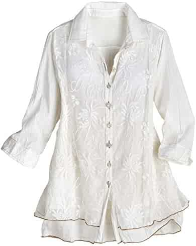 390513eaa04f92 Shopping 1X - Blouses & Button-Down Shirts - Tops, Tees & Blouses ...
