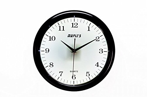 MAPLES CLOCK LMC143 14 White Light LED Plastic Wall Clock