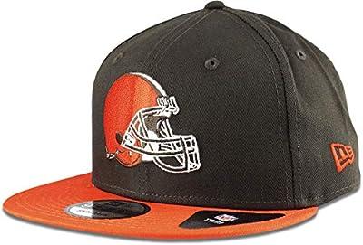 New Era Cleveland Browns Hat NFL Brown Orange 2Tone 9FIFTY Snapback Adjustable Cap Adult One Size