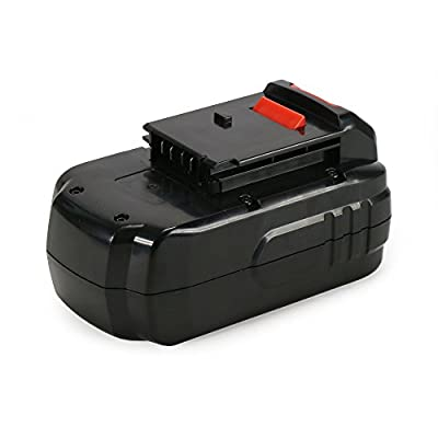POWERAXIS 18V High Capacity Battery Replacement for PORTER-CABLE PC18B PCC489N PCMVC PCXMVC Cordless Driver Drill (Black)