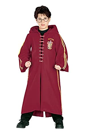 Harry Potter Deluxe Quidditch Robe, Large (Ages 8 to 10) (Harry Potter 7 Deluxe)