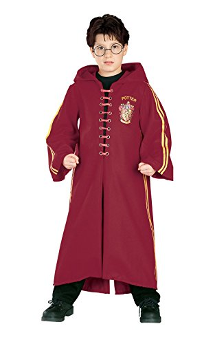 Deluxe Robe (Harry Potter Deluxe Quidditch Robe, Medium (size 8-10))