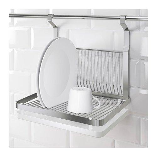 Ikea Kitchen Accessories Uae: Ikea Grundtal Dish Drainer, Stainless Steel, Silver