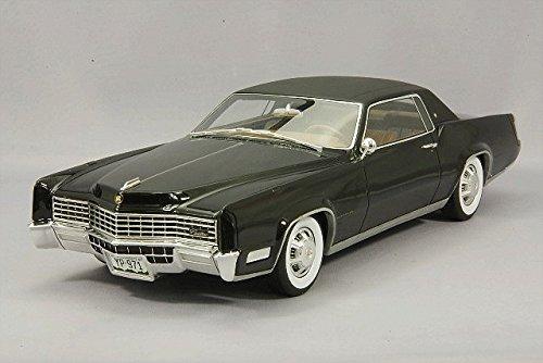 1/18 キャデラック エルドラド 1967 (ブラック×マットブラック) BOS064