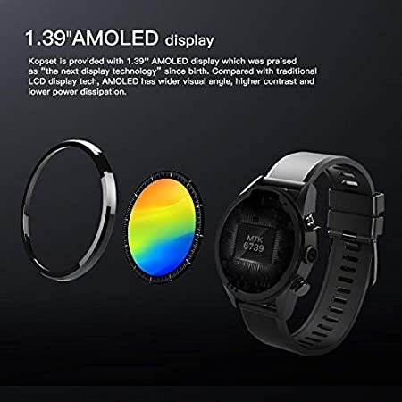 Smart Watch 4G Smartwatch para Android 7.1.1 3GB + 32GB ...