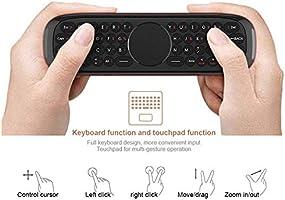 Mini Teclado inalámbrico para Nvidia Shield, portátil, tabletas, Teclado inalámbrico portátil 2.4 G Smart TV Remoto para Android Smart TV Box, proyector (Voice+Keyboard): Amazon.es: Electrónica